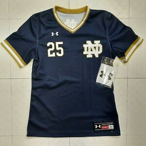 Under Armour Women's Notre Dame Irish Showtime Softball Jersey Sz S Small NEW
