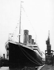 New 8x11 Photo: RMS TITANIC Ship, Ill-fated White Star Line Ocean Liner in 1912