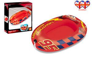 Disney/Pixar Car Children,Kids Inflatable Boat Water pool Boat,Official Licensed