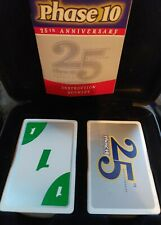 Phase 10 Card Game 25th Anniversary Limited Edition Tray Tin Fundex 2006