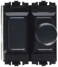 MK K4500 BLK LV Grid Plus 2M 2 Way 400W/320VA Single Dimmer - LV Black