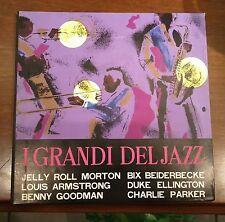 """I Grandi Del Jazz-Box cover 2XLP+7"""" 1962 Nuova Accademia Disco Rare"""