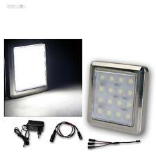 3er set LED Chrome sous-Lampe/16 LED froid-blanc, avec transformateur, construction projecteur