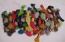 40 Skeins Virgin Wool Needlepoint Tapestry Yarn ALL DMC Laine Colbert Mixed Lot