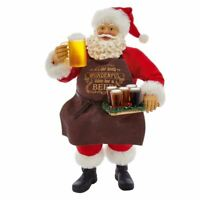 Kurt Adler Fabriche Most Wonderful Time of Beer Santa C7450 Christmas Figurine