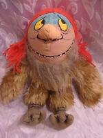 "Warner Bros Where the Wild Things Are Sipi 14"" Plush Soft Toy Stuffed Animal"