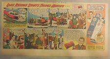 Gillette Razor Ad: Helicopter Rescue in Michigan, Shaving Romance ! from 1940's