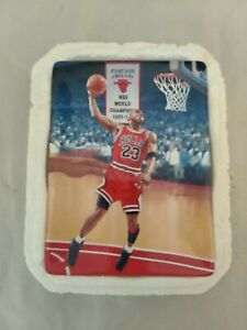 """Michael Jordan""""s Soaring Above The Rest """"NO STOPPIN' THIS"""" Limited Edition Plate"""