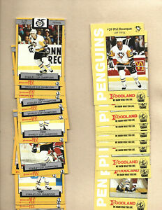 PITTSBURGH PENGUINS /Foodland 2 complete sets 1991&92
