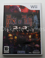 THE HOUSE OF THE DEAD 2 & 3 RETURN - NINTENDO WII - PAL ESPAÑA - AND