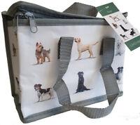 Dog Print Thermal Cool Picnic Baby Food Lunch Bag Box School/Leisure 22x12x16cm