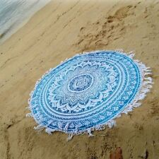 Indian Round Mandala Roundie Beach Throw Hippie Yoga Mat Towel Bohemian Tapestry