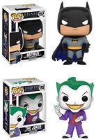 Funko POP! DC Heroes ~ BATMAN vs. THE JOKER VINYL FIGURE SET ~ Animated Series