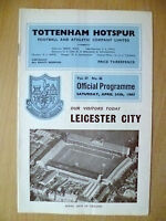1965 League Division One- TOTTENHAM HOTSPUR v LEICESTER CITY (Org*)