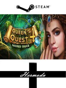 Queen's Quest 4: Sacred Truce Steam Key - for PC, Mac or Linux