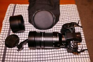 Panasonic H-RS100400E 100-400mm f/4.0-6.3 Lumix G Lens - Black