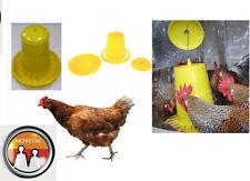 Mangiatoia antispreco per polli galline ovaiole comodo pratico anti spreco kg 15