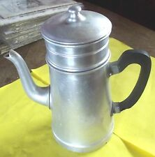 Ancienne Cafetière fer blanc RIOM ,la ménagère vintage 27 cm
