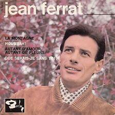 """45 T EP JEAN FERRAT  """"LA MONTAGNE"""""""