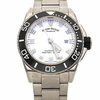 Armand Nicolet JS9 Date Steel Auto 44mm Mens Watch A480AGN-AG-MA4480AA