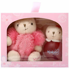 Kaloo Liliblue Cologne Spray 100ml/3.4oz Alcohol Free+Kaloo Maxi Pink Rabbit Set