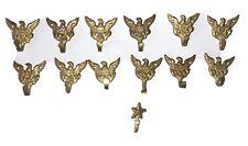 "1 Vintage Eagle Decorative Wall Hook 1.5"" Size Picture Coat Hanger Decorative"