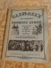 """1975 Glen Bel's """"Old Fashioned"""" Country Store Catalogue No 978 Crossville Tennes"""