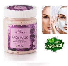 Hristina Face Mask with Lilac for oily Skin 200 ml Paraben Free 100% Natural