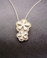 Ola Gorie 9ct Yellow Gold Petal Fall Flower Pendant RRP £539.0 Boxed