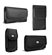 """Pouch for HTC One E9 Plus or One E9 (5.5"""") phone with a protective case on it"""