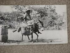 RPPC, Haiti-From Garden to Market, 1951 to Pittsfield, N.H., used vintage card