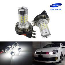 2x H15 Xenon Blanc 30W  Chip LED Feux Brouillard lumière de jour Ampoules