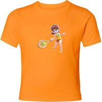 Nintendo Mario Princess Daisy Tennis Unisex Men Women Sport Video Game T-Shirt