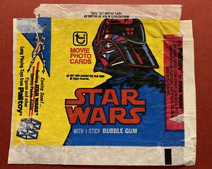 Topps Ireland 1977 - Star Wars 2nd Series. Empty Gum Card Wax Wrapper
