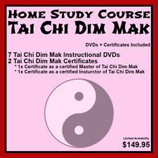 Home Study Course: Tai Chi Dim Mak (DVDs + Certificates Included)