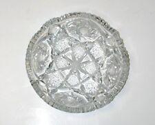Artcut Glass Ash Tray