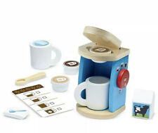 Melissa And Doug Brew And Serve Wooden Coffee Set