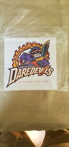 DENVER DAREDEVILS RHI STICKER RARE