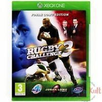 Jeu Rugby Challenge 3 - Jonah Lomu Edition [VF] sur Xbox One NEUF sous Blister