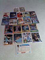 Tom Brunansky:  Lot of 65 cards.....49 DIFFERENT / Baseball