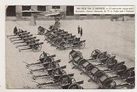 musée de l'armée campagne de 1914-1915 canons allemands de 77 et taube