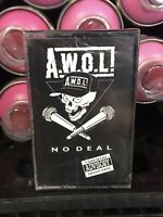 Awol No Deal Cassette Tape SEALED Rare Bryant Records PROMO 1992