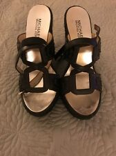 Michael Kors Black Wedges, Size 6M