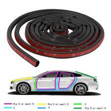 13ft Big D Type Car Trunk Door Guard Rubber Seal Strip Noise Elimination Trim