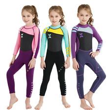 Kids Children 2.5MM Neoprene Diving Suit Boy Girl Swim Scuba Surf Warm Wetsuits