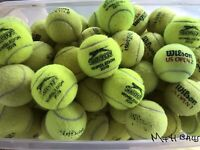 15 Used Tennis Balls For Dogs In *Great Condition* / *Sanitised & Pet Friendly*