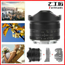 7artisans 7.5mm F/2.8 Fisheye Ultra Wide Angle Lens Use For Canon EOS-M EF-M