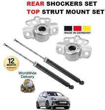 FOR FIAT PUNTO EVO 199 + DIESEL 2009-2012 2x REAR SHOCKERS + TOP STRUT MOUNTINGS