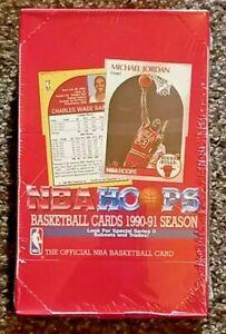 1990-91 HOOPS NBA BASKETBALL SERIES 2 SEALED BOX    JORDAN HOF PAYTON RC ROOKIE