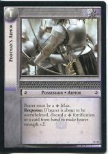 Lord Of The Rings CCG Card RotK 7.U93 Footman's Armor
